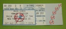 New York Yankees Ticket Stub | August 24 1996 | Dave Pavlas Only Career Save