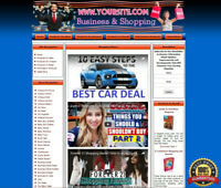 Money Making STORE - Top Online Affiliate Business Website - FREE Domain Support