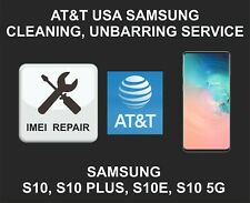 AT&T USA Cleaning, Unbarring Service for Samsung S10 S10 Plus, S10E, S10 5G