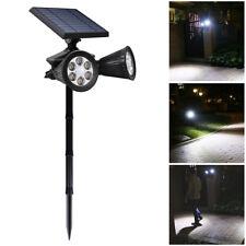 Solar Lights Motion Sensor Spotlight Outdoor Wall Lamp Upgraded Double 12 LED
