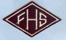 ARMY JROTC SSI:   FRANKLIN HS ...LOS ANGELES, CA ????  SUPERB INSIGNIA