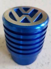 VW Logo T5 T6 Gear Shift Knob Ribbed Blue