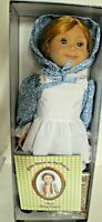 Little House Mary Ingalls 18-inch Doll Blue Outfit Lunch Pail Chalk Board