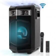 Bluetooth PA Loudspeaker & Microphone System Portable Stereo Karaoke (500 Watt)