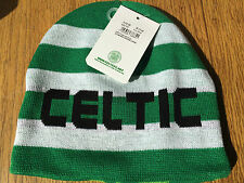 Celtic FC reversible beanie hat summer sale now only £7.99 free posting to UK