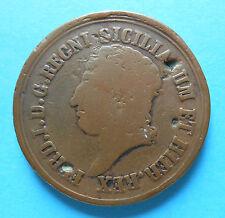 8 Tornesi 1817 moneta non comune - Regno delle due Sicilie -