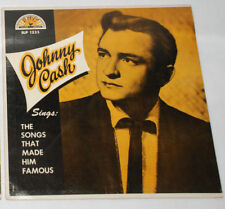 JOHNNY CASH SINGS SONGS THAT MADE HIM FAMOUS 1958 SUN MONO LP PREOWNED