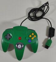 Official Nintendo 64 Controller Green Very Good Condition + Good Stick PAL UK