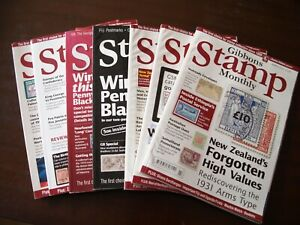 Gibbons Stamp Monthly Magazines March to December 2012
