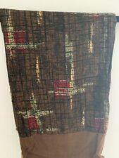 Vintage Retro Men's Trendy Cotton Style Scarf Brown