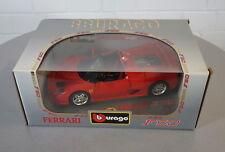 Burago 1/18 Ferrari F50 (1995) Rot - 3352 - Die-Cast Scale Modell Auto NEU OVP