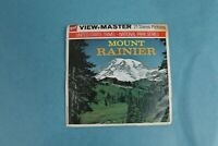 VINTAGE VIEW-MASTER 3D REEL PACKET A271 MOUNT RAINIER NATIONAL PARK COMPLETE