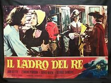 FOTOBUSTA CINEMA - IL LADRO DEL RE - ANN BLYTH - 1955 - AVVENTURA - 01