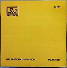 PAUL FRENCH the french connection LP Mint- JW 525 UK Library RARE 1986 Record