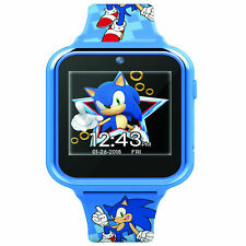 Accutime Sonic The Hedgehog Interactive Kids Watch Blue