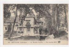 Houlgate Moulin Landry France Vintage Postcard 358a