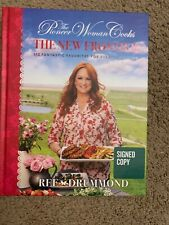 REE DRUMMOND THE NEW FRONTIER COOKBOOK SIGNED AUTOGRAPHED 112 FANTASTIC MEALS
