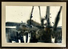 Original Signed KAY KANDRA Abstract Landscape Watercolor Painting Listed Artist