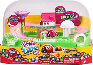 Little Live Pets Ladybird Garden Playset