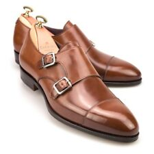 $750 Carmina Shell Cordovan Double Monkstraps (US 8D)