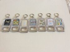 Superhero Collectable Keyrings with Bottle Openers