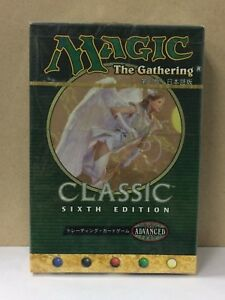 Classic Sixth Edition Starter Set for 2 Players Japanese MTG Sealed BNIP