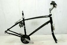"Giant Cypress Comfort Hybrid Bike Frame 18"" Large Fork Suntour Steel CIty VBrake"