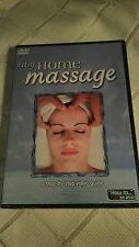 EASY HOME MASSAGE dvd Massage Therapist guide Teach Lessons