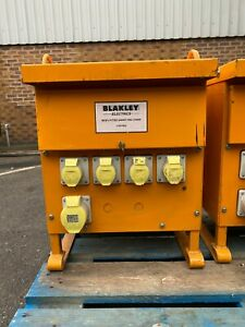 Blakley 110V Site Transformer 5 KVA Single Phase 1 x 32A 4 x 16A and breakers
