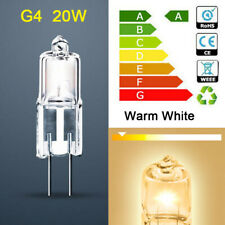 20pcs Warm White G4 Halogen Capsule Light Bulbs Replace LED Table Lamp 20W 12V