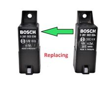 Iveco Daily Diesel 9-Pin Glow Plugs (Replacement) Relay Bosch 0281003024 4-Zyl.
