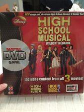 Disney High School Musical 1 2 3 Wildcat Megamix Mattel DVD Game 6+ 2-6 Players