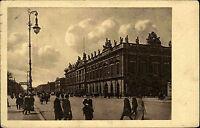 Berlin AK 1913 Unter den Linden Zeughaus Straße Gebäude gelaufen nach Chemnitz