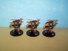 Bugbear Flesh Glutton x3 - Rusty Dragon Inn #29 Pathfinder Battles D&D Miniature