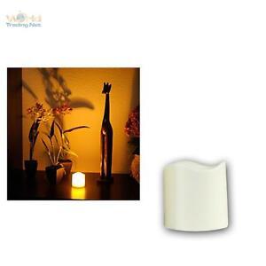 LED Vela 7,5cm con Temporizador para Exterior, Aire Libre sin Llama, Elktrisch