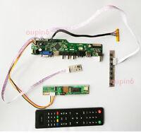 "TV HDMI LCD VGA CVBS RF Controller board KIT DIY for LTN141W1-L09 1280X800 14.1"""