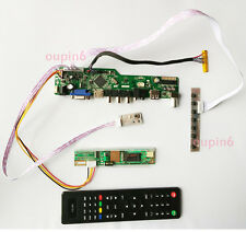 "TV HDMI LCD VGA CVBS RF Controller board kit for N170C2-L02 1440*900 17.0"" Panel"
