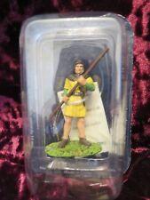 DeAgostini MS028 Medieval Foot Warrior Soldier Lead Figure 60mm #32