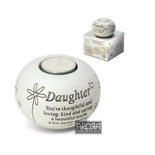 Said With Sentiment 7309 Daughter Tealight Holder