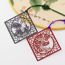 Chinese Style Bookmark Student Reading Hollow Out Pane Birthday Gift Souvenir