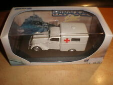 PARADCAR #110 Peugeot 202 Ambulance resin  very rare!!!    MIB (ds33/N0591)
