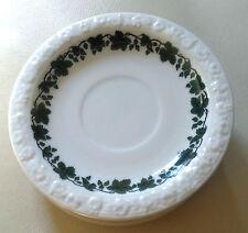 ROSENTHAL SAUCER-GREEN VINE LEAF ON WHITE GROUND-RELIEF BORDER-UPTO 6  #