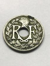 1922 France 10 Centimes Fine #8353