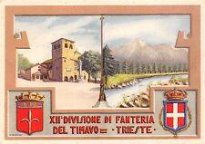 C3903) TRIESTE, XII DIVISIONE DI FANTERIA DEL TIMAVO. ILL. N. BERARDI.