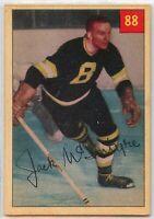 1954-55 Parkhurst Hockey #88 Jack McIntyre VG-EX Condition (2020-13)