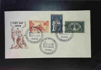 Luxembourg 1956 L'Acier Series First Day Cover  - Z1581