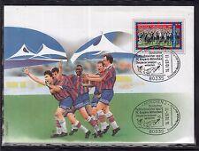 A 29 ) herrlicher Beleg Deutscher Fußballmeister Bayern München 1997