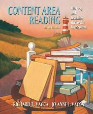 Content Area Reading: Literacy and Learning Across the Curriculum (9th Edition)