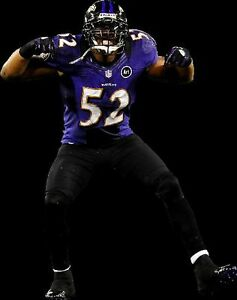 {24 inches X 36 inches} Ray Lewis Poster #2 - Free Shipping!