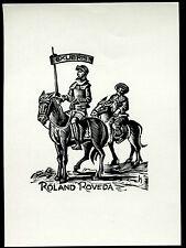 EXLIBRIS,028,Hans Hauke - Don Quijote